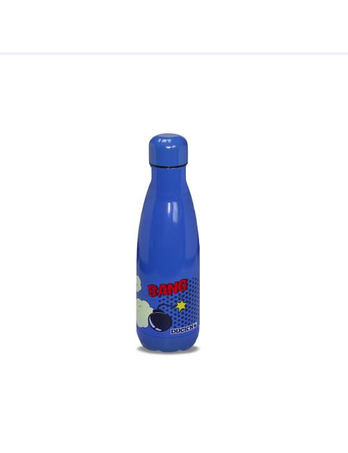 Bouteille Isotherme Bleu Marine Duck'n 350ML Motif BD finition Brillante