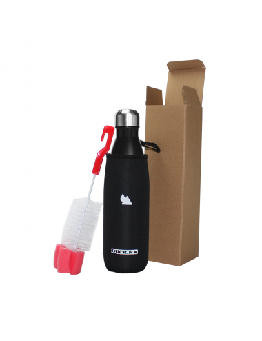 Bouteille Isotherme Duck'n 500ML Noire finition mat